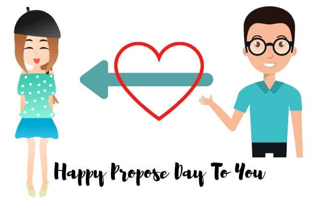 Happy propose day to you